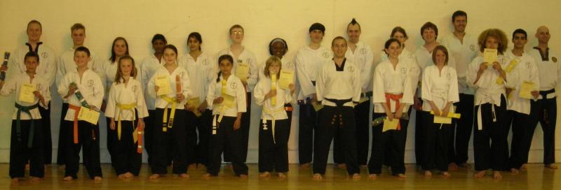 goyararu martial arts grading candidates JULY 2009