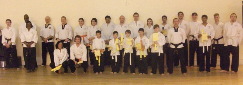 goyararu martial arts grading candidates